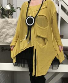 Moonshine oversized  zacht  gebreide tuniek/top /in meerdere kleuren