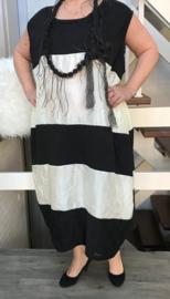 Marike oversized A-lijn  jurk apart (extra groot)