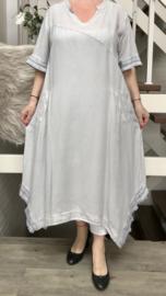 KEKOO design de modieuze kleuring A-lijn jurk