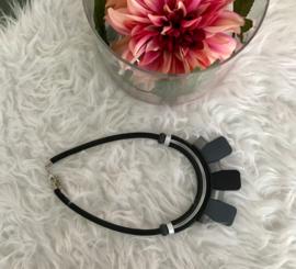Fashion design jewellery rubber collier 100