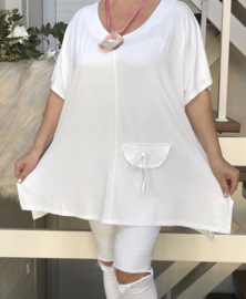 ITALIA viscose tricot oversized  A-lijn top/blouse /in meerdere kleuren