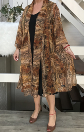 Beatrice oversized A-lijn blazer (extra groot)  apart