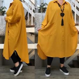 ITALIA  oversized tuniek/hemd  /in meerdere kleuren