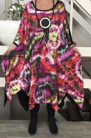 Anisa oversized A-lijn jurk apart (extra groot)