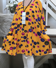 Lori oversized A-lijn luchtige katoen tuniek/jurk met zakken apart (extra groot)
