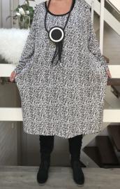 ITALIA MODA jersey jurk (extra groot)