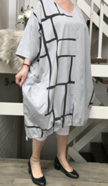 KEKOO design  ballon jurk stretch