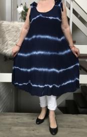 ITALIA viscose  A-lijn jurk