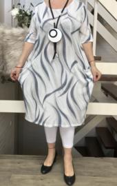 ITALIA MODE jersey jurk stretch