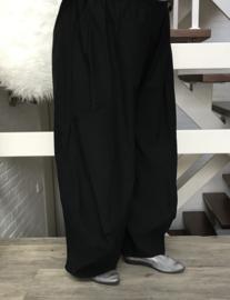 Moonshine jersey ballonbroek apart(extra groot) zwart
