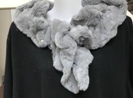 ITALIA zachte winter kraag - sjaal van imitatie bont /in meerdere kleuren