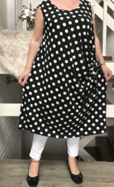 ITALIA MODA  viscose tricot  A-lijn jurk