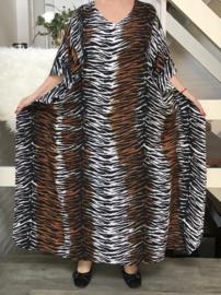 ITALIA viscose oversized poncho/wrap