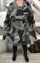 Moonshine wollen zachte mantel /vest (extra groot)