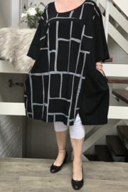 KEKOO design ballon jurk stretch /in meerdere kleuren