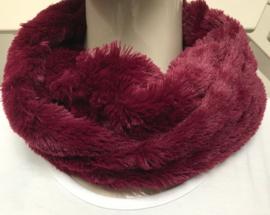 ITALIA   zachte imitatie bond cirkel sjaal /in meerdere kleuren