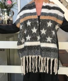 Italia super zacht winter viscose /katoen sjaal