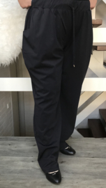 ITALIA COMFORT broek  zwart ( extra groot)