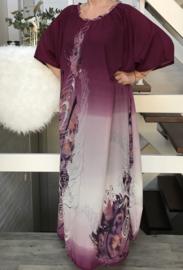 NEW NEW oversized jurk/wrap  apart (extra groot en extra lang )