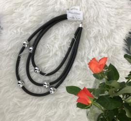 Fashion design jewellery rubber collier  053