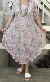 ITALIA luchtige katoen A-lijn jurk +top /in meerdere kleuren
