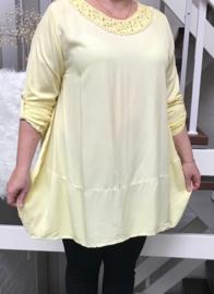 ITALIA viscose A-lijn blouse/tuniek /in meerdere kleuren