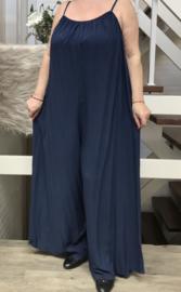 ITALIA viscose oversized jumpsuit  apart/ in meerdere kleuren