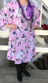 Charlotte oversized A-lijn  jurk apart (extra groot)