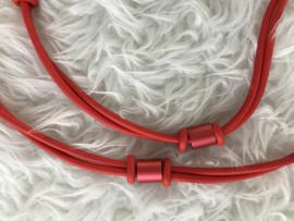 Fashion design jewellery rubber collier 115