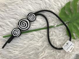 Fashion design jewellery rubber collier 81