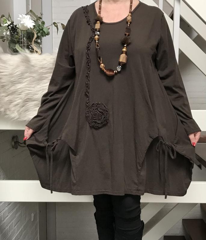 Moonshine jersey A-lijn tuniek/jurk /in meerdere kleuren