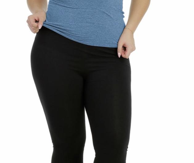 Italia Bensini slim katoen/lycra basic legging 3/4 /in meerdere kleuren