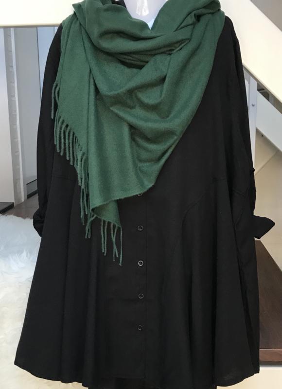 ITALIA zachte viscose/wol sjaal/in meerdere kleuren
