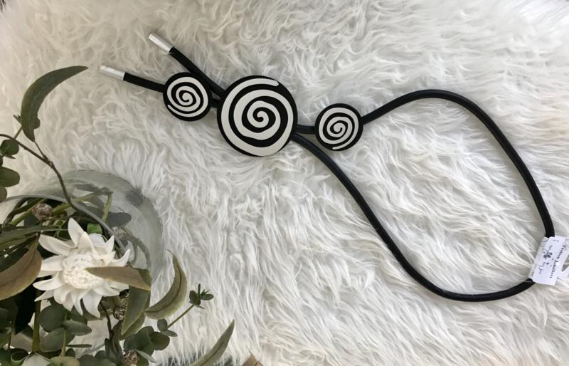 Fashion design jewellery rubber collier 110