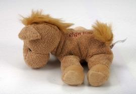 Pluche paardje met Riga logo