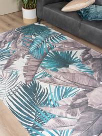 Vloerkleed Botanisch 'Palm' Groen