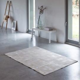 Koeienhuid White Patchwork Mood Wit 124x189cm