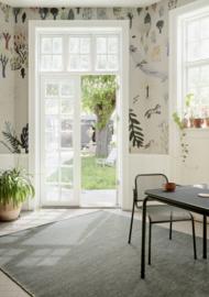Vloerkleed Outdoor/Indoor  'Hugin' Groen/Zwart