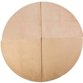 Misioo Speelmat Rond Goud 160x160cm