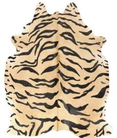 Koeienhuid Safari Collection Bengaalse Tijger 180x200cm