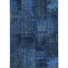 Vloerkleed VKW Prestigieux Patchwork 'Harmoni' Blauw