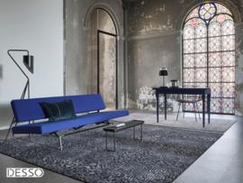 Vloerkleed Design 'Mozaic & Fresco'  Zwart/Blauw/Grijs