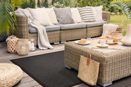 Vloerkleed Outdoor/Indoor 'Taffino Rips' Antraciet