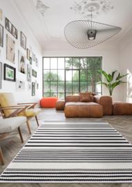 Vloerkleed Outdoor/Indoor  'Athene' Crème-Antra 160x230cm