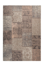 Vloerkleed VKW Magnificent Patchwork 'Passion Chania' Roze