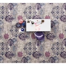 Vloerkleed Bonaparte Vintage 'Hint of Colours' Grijs/Blauw/Paars