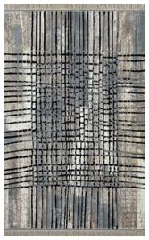 Vloerkleed Modern 'Nuans' Bruin/Zwart