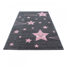 Vloerkleed VKW United Colors 'Kids Story' Ascella Roze