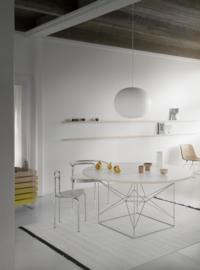 Vloerkleed Scandinavische Kelim 'Felicia' Off-White