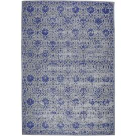 Vloerkleed VKW Glorieusement Vintage 'Kirari' Blauw 230x160cm